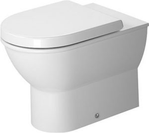 Duravit - Darling New Toilet Floorstanding 570mm Back To Wall Washdow - White