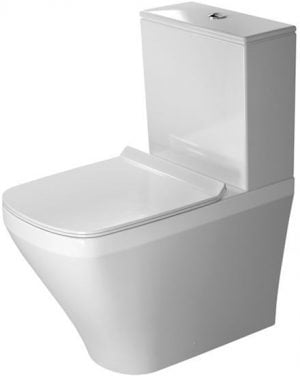 Duravit - DuraStyle Toilet Close-Coupled 630mm Washdown Vario Outlet - White