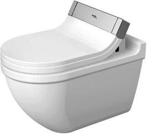 Duravit - Starck 3 DuraFix Toilet 620mm Washdown - White
