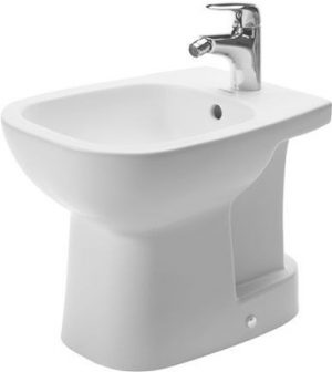 Duravit - D-Code Bidet Floorstanding 480mm Compact 1TH - White