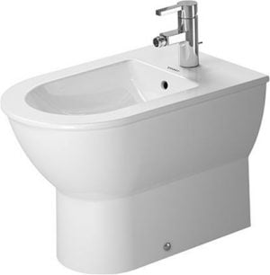 Duravit - Darling New Bidet Floorstanding 570mm Back To Wall 1TH - White