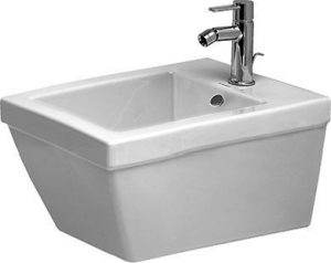 Duravit - 2nd Floor Wall Hung Bidet 540 x 370mm Invisible Fixings - White