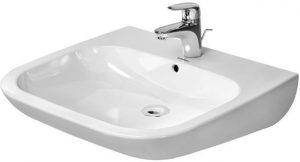 Duravit - D-Code Washbasin Vital 600mm Handicapped 1TH - White