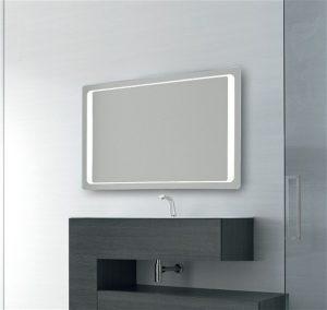 Bathroom Origins - Glow Mirror 120x70cm - Mirrored