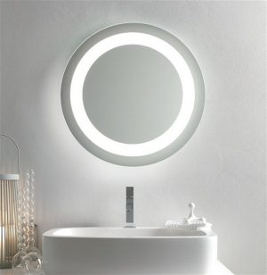 Bathroom Origins - Halo Mirror 60cm - Mirrored