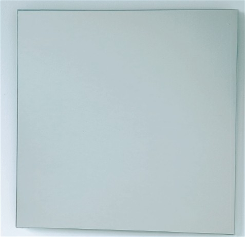 Bathroom Origins - Slim Square Mirror 600x600mm - Mirrored