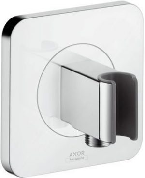 Axor Hansgrohe - Citterio E Porter Shower Support & Wall Outlet - Chrome