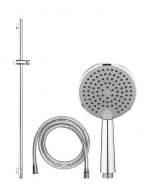 Crosswater - Ethos Package 1 - Premium Shower Rail Kit - Chrome