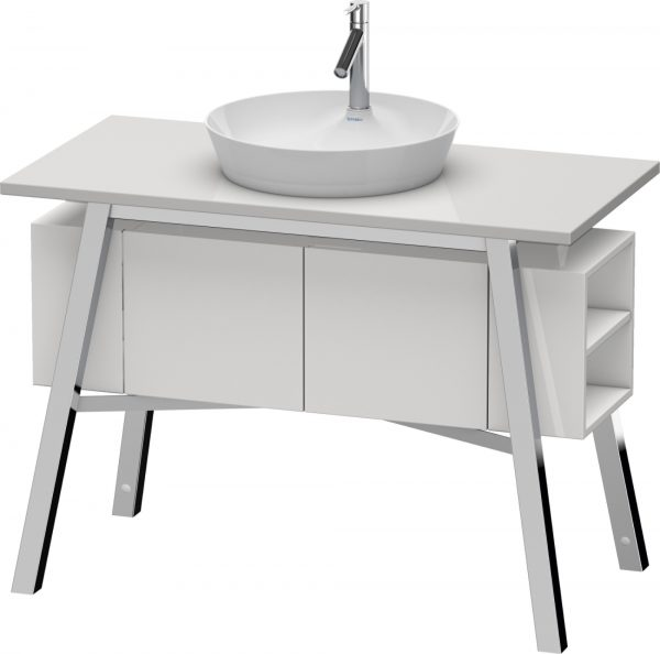 Duravit - Cape Cod Vanity Unit Floor-Standing 825x1120x570mm - White High Gloss Lacquer