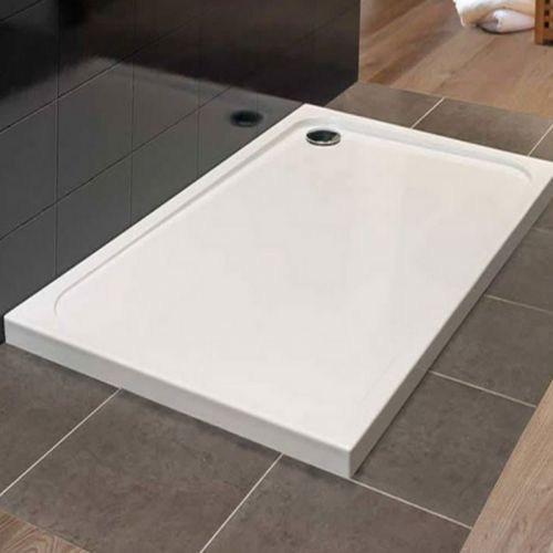 MStone Square Tray [including waste] 900mm