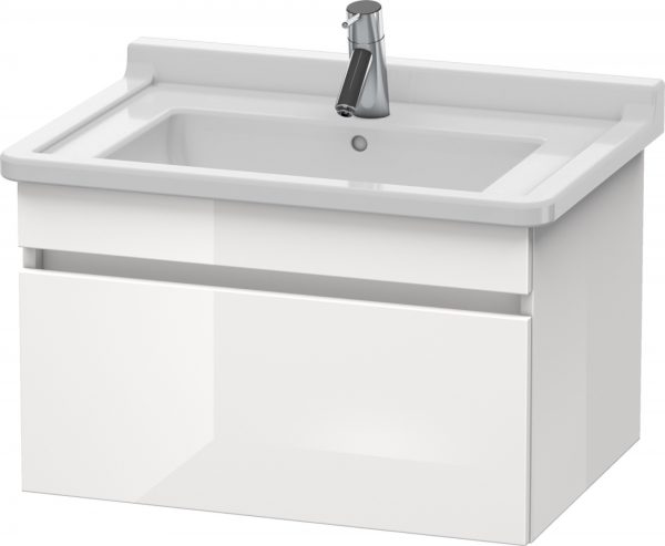Duravit - DuraStyle Vanity Unit 406x650x470mm Wall Mounted - White High Gloss