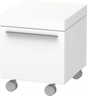 Duravit - Fogo Mobile Storage 550x500mm - White Matt