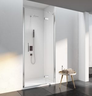 6 Series Frameless Hinged & Inline Recess Door 900mm