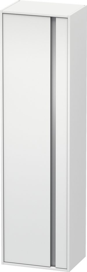 Duravit - Ketho Tall Cabinet 360x500x1800mm LH Hinge - White Matt