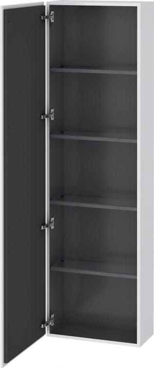 Duravit - L-Cube Tall Cabinet 1760x500x243mm 1 Door - White Matt