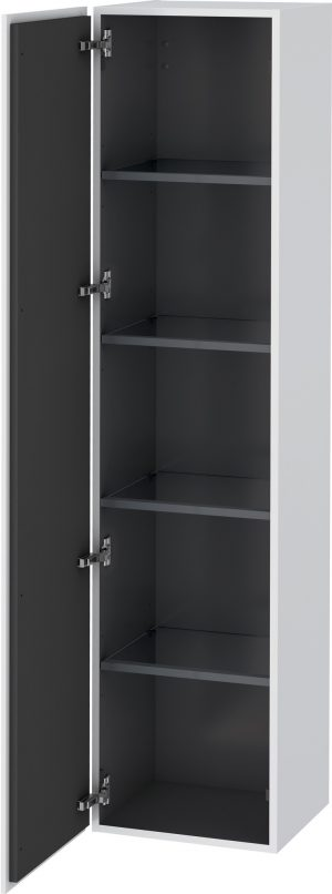 Duravit - L-Cube Tall Cabinet 1760x400x363mm 1 Door - White Matt