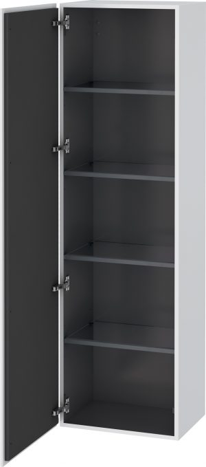 Duravit - L-Cube Tall Cabinet 1760x500x363mm 1 Door - White Matt
