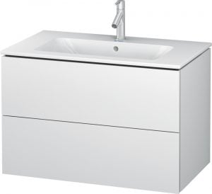 Duravit - L-Cube Vanity Unit 550x820x481mm 2 Drawers - White Matt