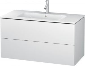 Duravit - L-Cube Vanity Unit 550x1020x481mm 2 Drawers - White Matt