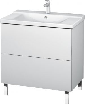 Duravit - L-Cube Vanity Unit Floorstanding 709x820x481mm - White Matt