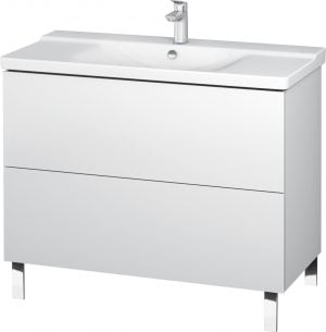 Duravit - L-Cube Vanity Unit Floorstanding 709x1020x481mm - White Matt