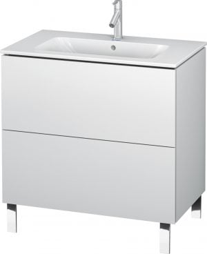 Duravit - L-Cube Vanity Unit 704x820x481mm - White Matt