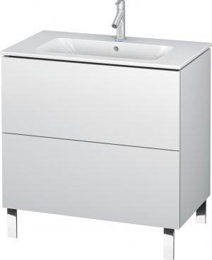Duravit - L-Cube Vanity Unit 704x820x481mm - White Matt