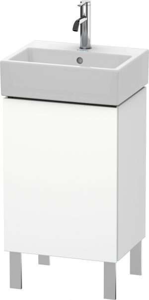 Duravit - LC Vanity Unit Floorstanding L 1 Door 593x434x341mm - White Matt