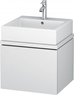 Duravit - L-Cube Vanity Unit For Console 400x520x477mm - White Matt