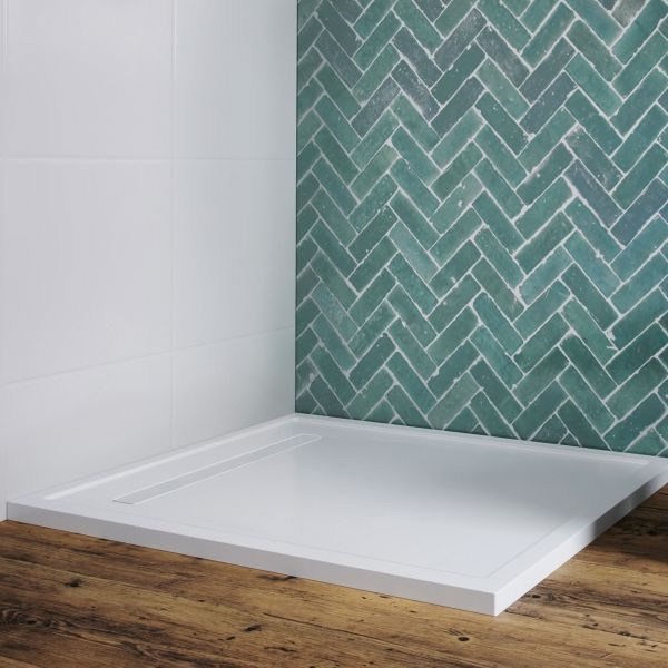 Matki - Universal 40 Linear Rectangular Shower Tray