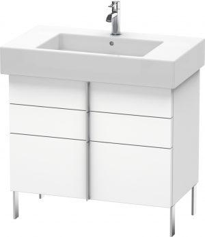 Duravit - Vero Vanity Unit Floorstanding 581x800x446mm - White Matt
