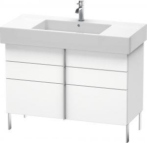 Duravit - Vero Vanity Unit Floorstanding 581x1000x446mm - White Matt