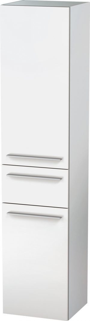 Duravit - X-Large Tall Cabinet 1760x400x358mm LH Hinge - White Matt