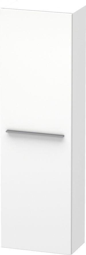 Duravit - X-Large Tall Cabinet 1320x400x238mm LH Hinge - White Matt