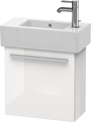 Duravit - X-Large Vanity Unit Wall Mounted 442x450x228mm LH - White High Gloss