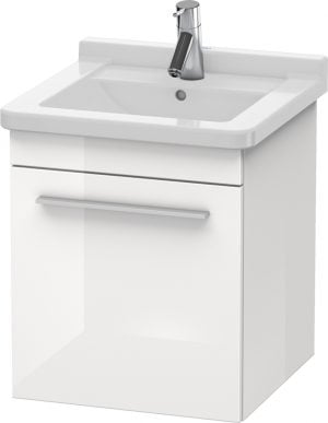 Duravit - X-Large Vanity Unit Wall Mounted 510x440x443mm RH - White High Gloss