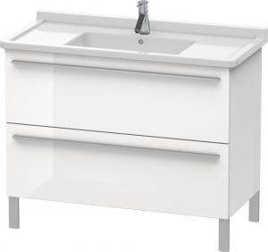 Duravit - X-Large Vanity Unit 668x1000x470mm 2 Drawers - White High Gloss