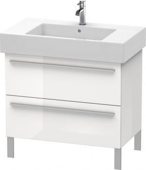 Duravit - X-Large Vanity Unit 588x800x470mm 2 Drawers - White High Gloss