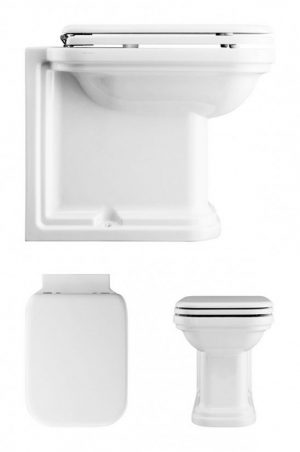 Crosswater - Waldorf Back To Wall Toilet 550mm - White