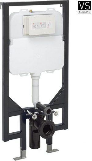 Crosswater - Slim WC Frame & Cistern 1.18m