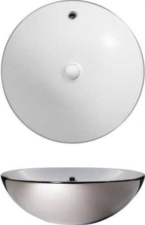 Crosswater - Castellon Counter Basin 430mm - Platinum