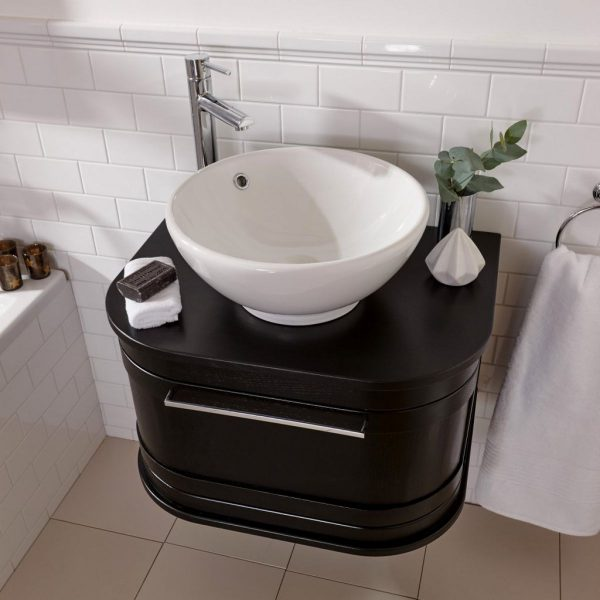 Imperial - Carlyon Roseland 1 Drawer Vessel Bowl Wall Hung Vanity Unit