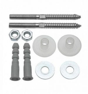 Crosswater - Wall Mounted Basin Fixing Screws - White