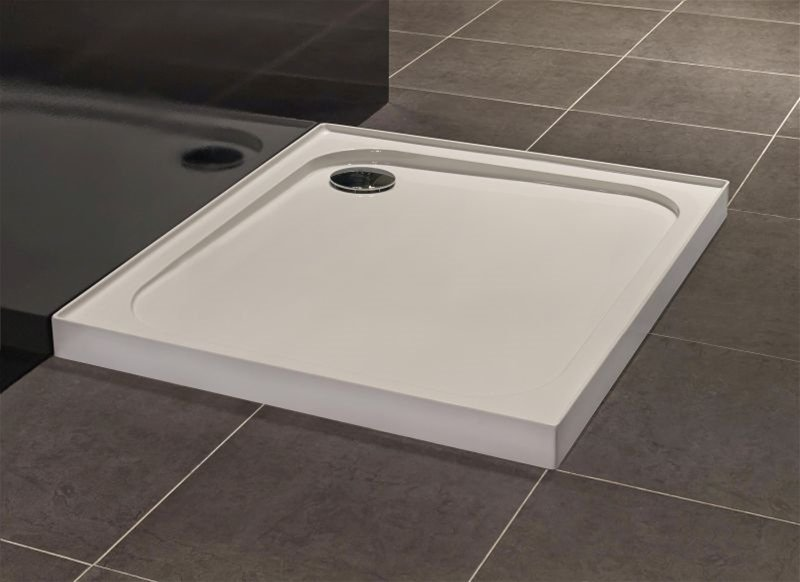 Merlyn - Upstand Square Shower Tray 760mm - White