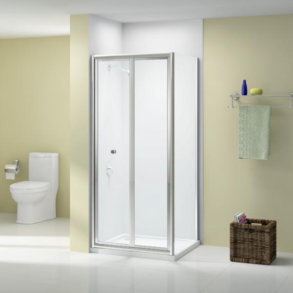 Merlyn - Ionic Source Bi-Fold Door Shower Enclosure