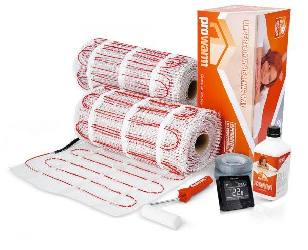 ProWarm™ Electric underfloor Heating 100w sticky mat kit
