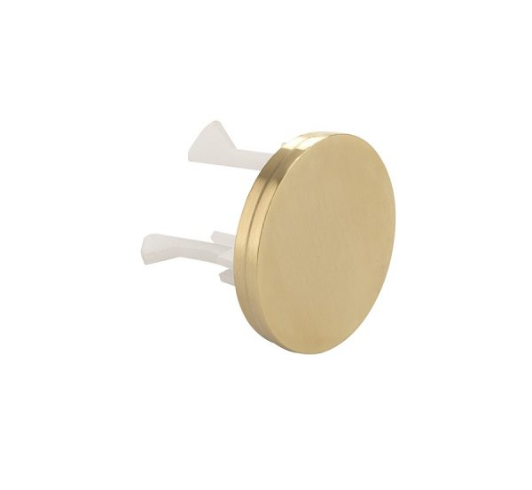 Crosswater - MPRO Overflow Cover, Brushed Brass