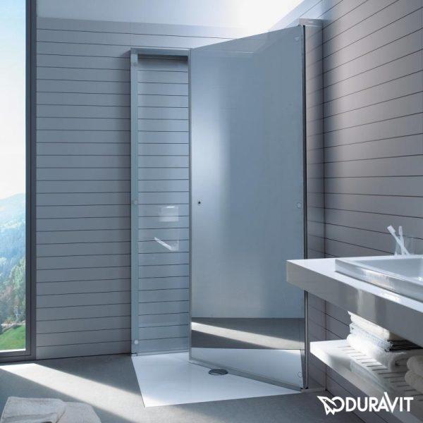 Duravit - OpenSpace Square Shower Enclosure (Inward Folding Enclosure)