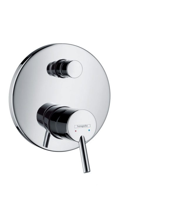Hansgrohe - Talis Concealed Manual Bath / Shower Valve with Backflow Prevention