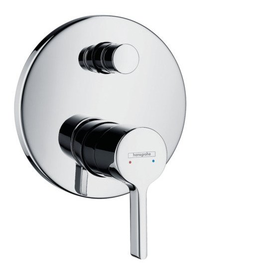 Hansgrohe - Metris S Concealed Manual Bath / Shower Valve with Backflow Prevention